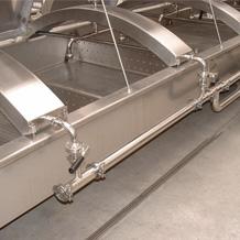 Ванны охлаждения с механической подачей