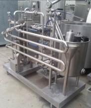 pastorizzatore elettropneumatico - 1500 l-h